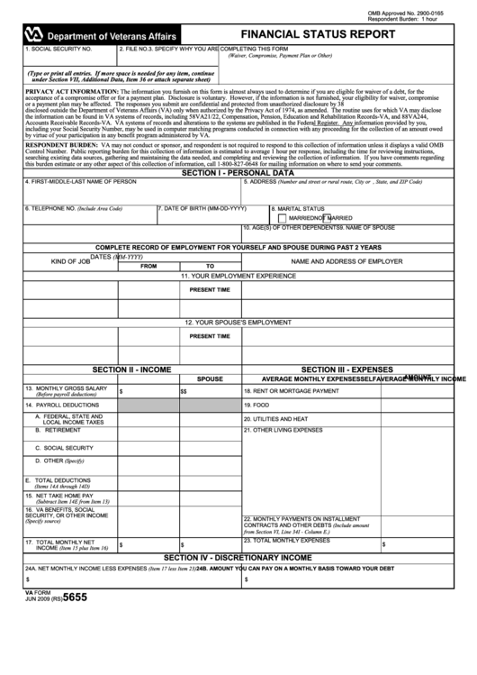 google resume pdf va form 5655 financial status report printable pdf 5655