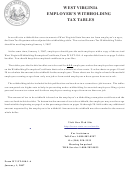 Form Wv/it-104 - West Virginia Employee's Withholding Exemption Certificate