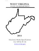 Form Wv/it-105.1 - West Virginia Transmitter Summary Report