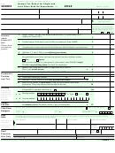 Form 1040ez - Income Tax Return For Single And Joint Filers With No Dependents - 2013