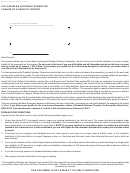 Form Boe-261-gnt (p1)- Disabled Veterans' Exemption Change Of Eligibility Report - State Of California - 2013