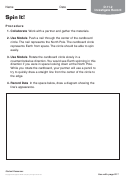 Spin It Geography Worksheet