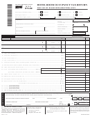 Form Nyc-htx-rr - Hotel Room Occupancy Tax Return For Use By Room Remarketers Only