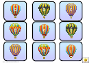Mini Hot Air Balloon Alphabet And Phonics Cards Template