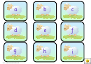 Mini Sheep Alphabet And Phonics Cards Template