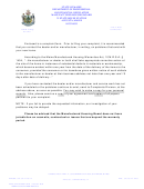 Manufactured Housing Complaint Form - Maine Department Of Professional And Financial Regulation