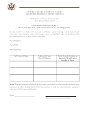 Withdrawal Payee Information - Southern District Court Of West Virginia