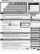 Form 940 - Employer's Annual Federal Unemployment (futa) Tax Return - 2012