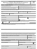 Form 911 - Request For Taxpayer Advocate Service Assistance