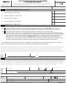 Form 8453-c - U.s. Corporation Income Tax Declaration For An Irs E-file Return - 2012