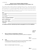 Form Cja 28b - Attorney Services Summary Budget Worksheet For Non-capital Representations With The Potential For Extraordinary Cost