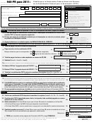 Formulario 940-pr - Planilla Para La Declaracion Federal Anual Del Patrono De La Contribucion Federal Para El Desempleo (futa) - 2011