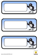Magpie Cards Template