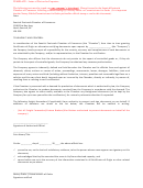 Letter Of Waiver For Exporters Template