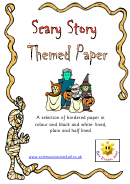 Halloween Writing Paper Template