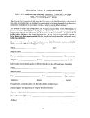 Appendix D - Title Vi Complant Form