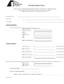 Workshop Report Form