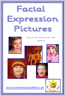 Facial Expression Pictures Vocabulary Template