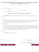 Form Ao 240a - Order To Proceed Without Prepaying Fees Or Costs