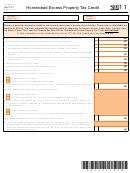 Schedule Heptc-1 (form It-140) - Homestead Excess Property Tax Credit - 2011