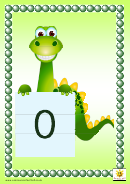 Dragon Style 1-30 Number Chart