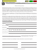 Form A-006 - Affidavit Of Exempt Sales - Wisconsin Department Of Revenue