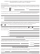 Form At-104 - Schedule For Appointment Of Agent By Corporation/nonprofit Organization Or Limited Liability Company