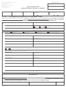 Form At-105 - Application For Airport/public Facility Permit