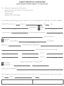 Form At-110 - Court Report Of Conviction - Wisconsin Department Of Revenue