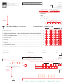 Form Dr-145 - Oil Production Monthly Tax Return - Florida Department Of Revenue