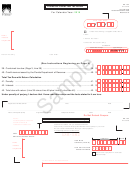 Form Dr-182 Sample - Florida Air Carrier Fuel Tax Return - 2015