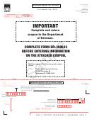Form Dr-309632 Sample - Wholesaler/importer Fuel Tax Return - 2015