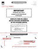 Form Dr-309633 Sample - Mass Transit System Provider Fuel Tax Return - 2015