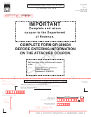 Form Dr-309634 Sample - Local Government User Of Diesel Fuel Tax Return - 2015