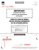 Form Dr-309638 Sample - Exporter Fuel Tax Return - 2015