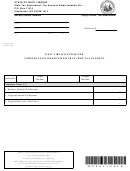 Form Wv/cnf-120es - West Virginia Estimated Corporate Income/business Franchise Tax Payment