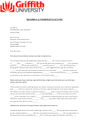 Sample Speculative Or Unsolicited Cover Letter