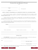 Form Ao 85a - Notice, Consent, And Reference Of A Dispositive Motion To A Magistrate Judge