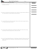 Ratios With Tape Diagram Worksheet Template With Answer Key