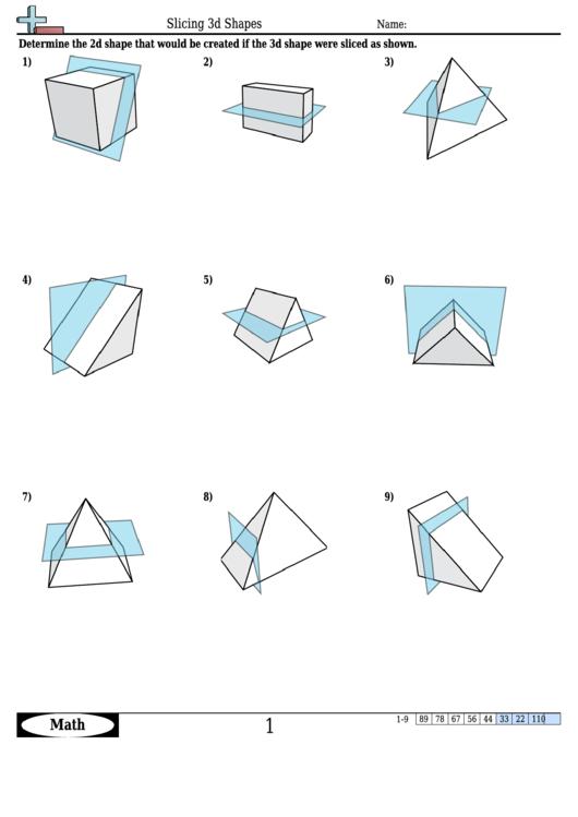 top 56 3d shapes worksheet templates free to download in pdf format. Black Bedroom Furniture Sets. Home Design Ideas