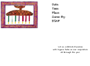 Rsvp Invitation Template - Kwanzaa