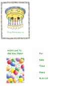 Rsvp Invitation Template - Birthday Party