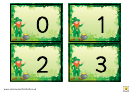 Irish Style 1-20 Number Practice Sheets
