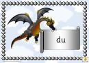 Welsh Color Dragons Classroom Border Templates