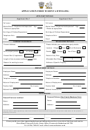 Application Form To Rent A Dwelling
