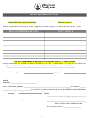 Permit Agent Authorization Form