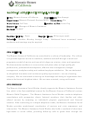 Sample Masonic Assistance Social Worker Job Description Template