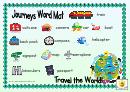 Journeys Word Mat