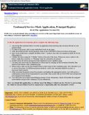 Pto Form 1478 - Trademark/service Mark Application - Trademark Electronic Application System - Teas Application