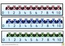 Formula 1 Number Line Template